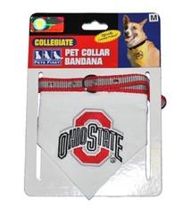 Ohio State University Bandana Collar