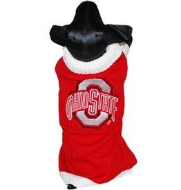 Ohio State University Dog Sweater