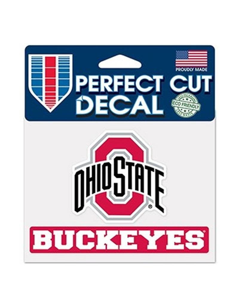 Wincraft Ohio State University 4x5 Buckeyes Decal