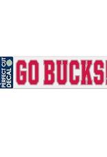 "Wincraft Ohio State University Go Bucks 3""x10"" Decal"
