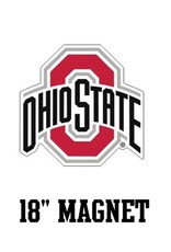 "Ohio State University Athletic O 18"" Magnet"