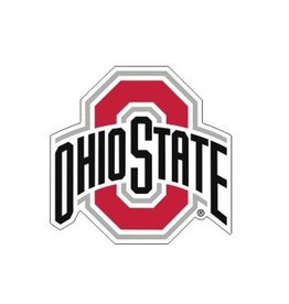 "Ohio State University Athletic O 12"" Decal"