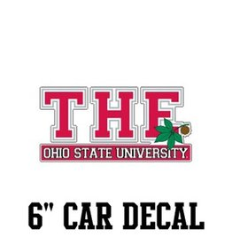 "The Ohio State University 6"" Car Decal"