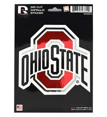 Ohio State University Metallic Decal