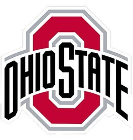 Ohio State University 5x5 Athletic O Decal