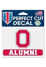 "Wincraft Ohio State University 4"" x 5"" Block O Alumni Perfect Cut Decal"