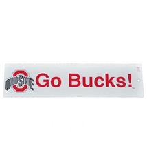 "Ohio State University ""GO BUCKS!"" Bumper Sticker"
