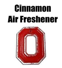 Back The Lane Creations Ohio State University Cinnamon Block O Air Freshener