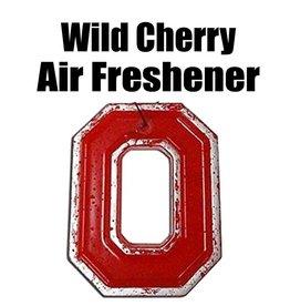 Ohio State University Wild Cherry Block O Air Freshener