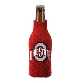 Ohio State University Glitter Bottle Koozie