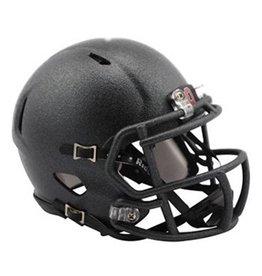 Ohio State University Anthracite Speed Mini Helmet