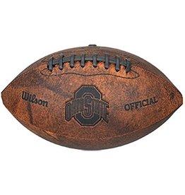 Ohio State University Vintage Throwback Mini Football