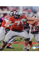 Corey Linsley 8x10 Autograph Photo