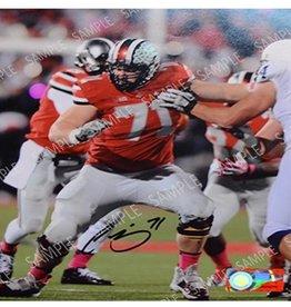 Corey Linsley 8x10 Autograph Photo