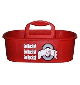 Ohio State University Go Bucks! Scarlet Oval Caddy