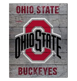 Ohio State University Road To Victory 16x20 Pallet