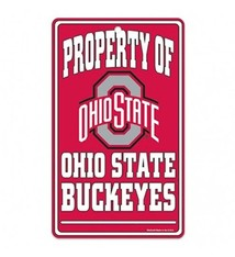 Wincraft Property Of Ohio State Buckeyes Sign
