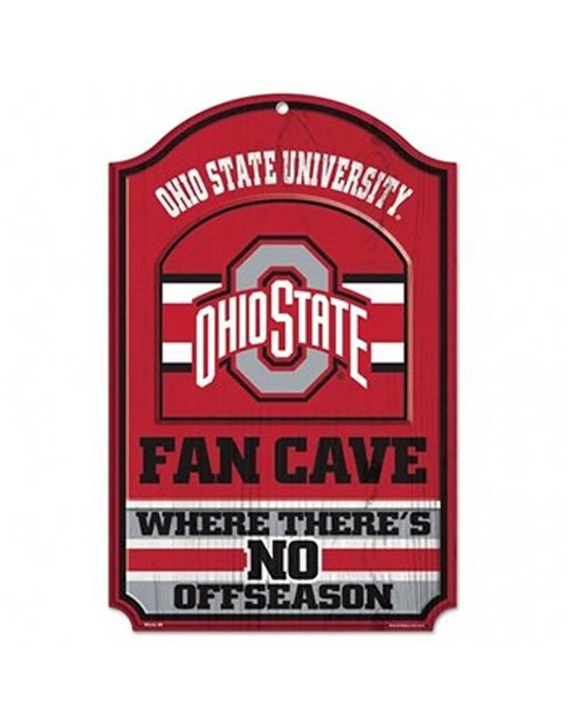 Wincraft Ohio State University Fan Cave Wooden Sign