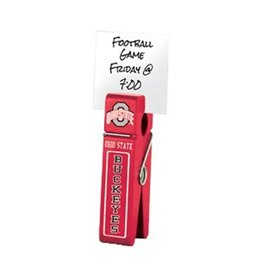 Ohio State University Wooden Clip
