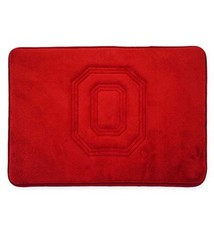 Ohio State University Memory Foam Bathroom Mat