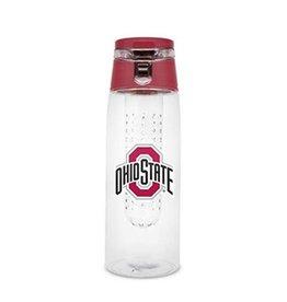 Duckhouse Ohio State University 16 oz Infuser Water Bottle