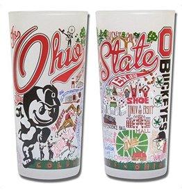 Catstudio Ohio State University Collegiate Glass
