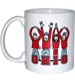 Ohio State University Letters People Mug