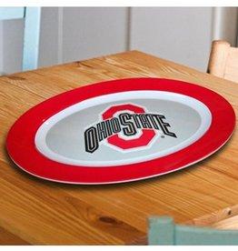 Ohio State Buckeyes Oval Tray