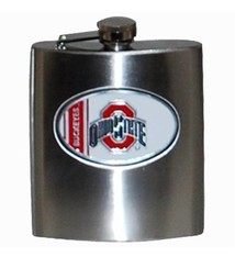 Ohio State University Stainless Steel Hip Flask