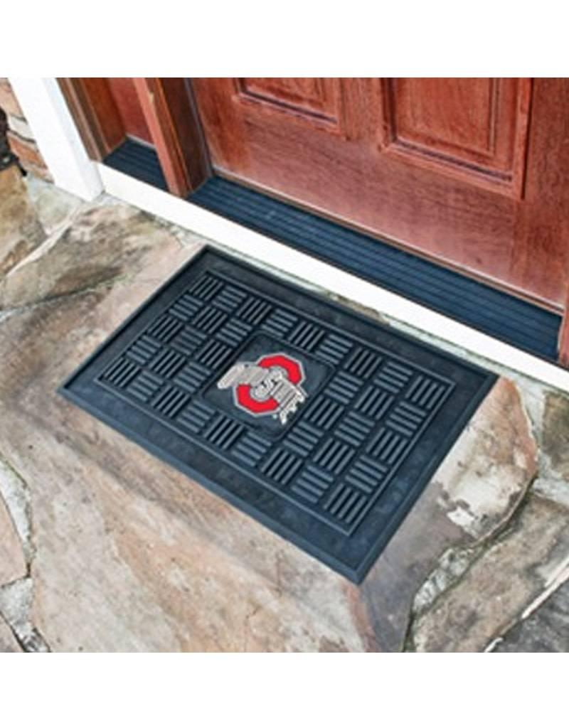 Ohio State Buckeyes Rubber Door Mat