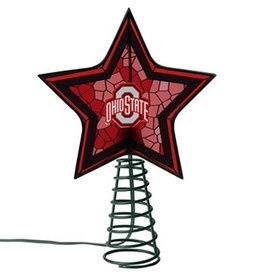 Ohio State University Mosaic Tree Topper