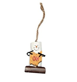 State Of Ohio S'Mores Ornament