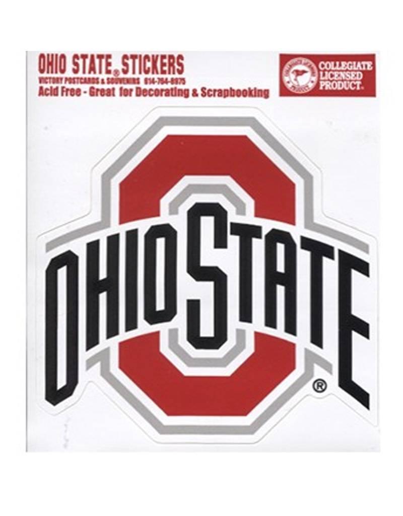Ohio State University Athletic O Sticker