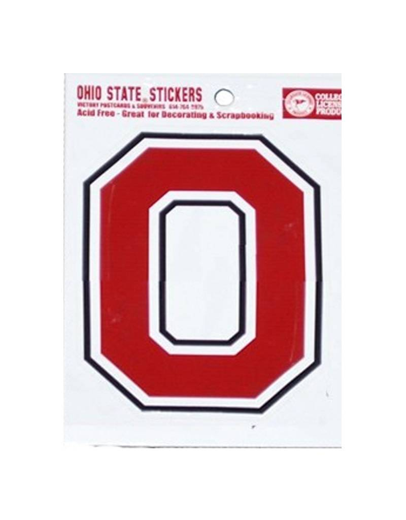 Ohio State University Block O Sticker