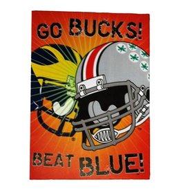 "Ohio State University ""Go Bucks Beat Blue"" Card"