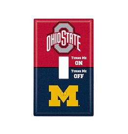 Ohio State University Rivalry Single Toggle Light Switch Cover