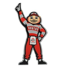 Ohio State University Brutus Wooden Sign