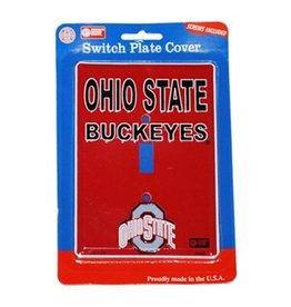 Ohio State University Buckeyes Light Switch Plate Cover
