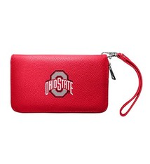 Ohio State Buckeyes Pebble Organizer Wallet