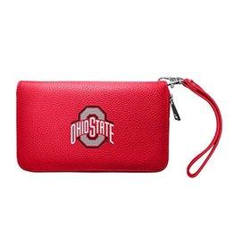 Ohio State Buckeyes Pebble Organizer Wallet