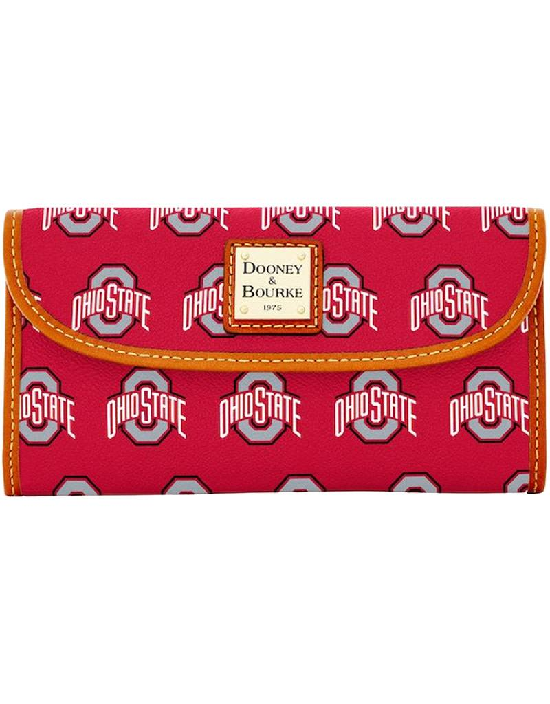 Dooney & Bourke Dooney & Bourke Ohio State University Continental Clutch