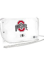 Ohio State University Clear Athletic O Chain Purse