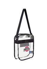 Ohio State University Clear Carryall Crossbody