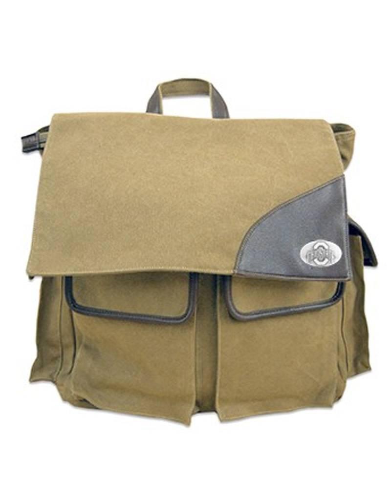 Ohio State University Canvas Travel Backpack