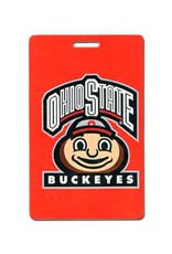 Ohio State University Buckeyes Brutus Logo Luggage Tag
