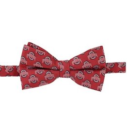 Ohio State University Woven Repeating Logo Bow Tie