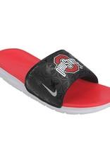 Nike Ohio State University Benassi Solar Soft Glides - Size 9