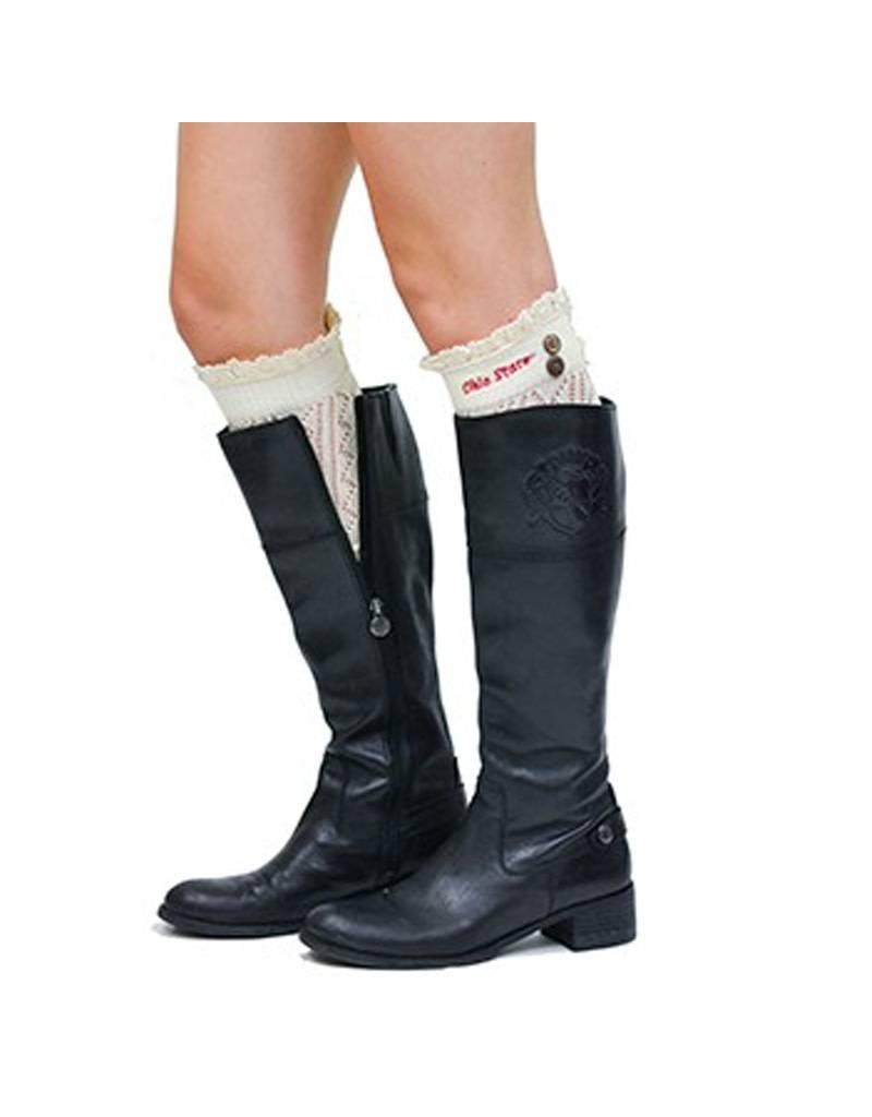 Ohio State University Boot Cuff Leg Warmers