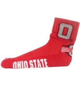 Ohio State University Athletic O Quarter Sock
