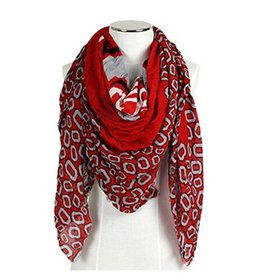 Ohio State University Boarder Scarf